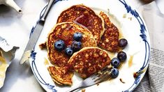 Lemon-Ricotta Pancakes | These make-ahead Lemon-Ricotta Pancakes will be your new favorite breakfast.