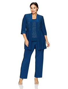 Women's Plus Size Two Piece Glitter and Lace Pant Set Large R&M Richards Jacket Mock Pant: Polyester, Spandex Imported Pull On closure Hand Wash Fully lined No zipper Pullover plus sized oufits for women, Classy Prom Dresses, Bridesmaid Dresses Plus Size, Plus Size Dresses, Plus Size Outfits, Bride Dresses, Summer Wedding Outfits, Best Wedding Guest Dresses, Wedding Attire, Casual Gowns