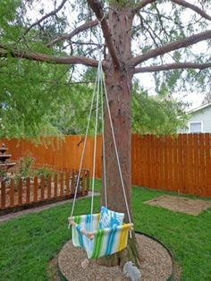 DIY Tree Swing For A Baby | Kidsomania
