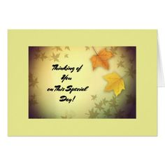 Shop Autumn Leaves Thanksgiving Card created by Personalize it with photos & text or purchase as is! Thanksgiving Greeting Cards, Holiday Cards, Christmas Cards, Happy Thanksgiving, Holiday Decor, Family Holiday, Floral Style, Autumn Leaves, Customized Gifts