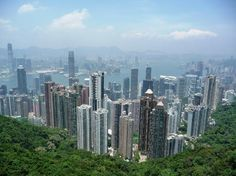 Hong Kong. Love the view from the peak!