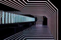 Clubs & Discotheques - Nightclubs - D-Edge - Sao Paulo - Brazil Club Lighting, Neon Lighting, Night Club, Night Life, Art Madrid, Madrid Barcelona, Barcelona Spain, Nightclub Design, Bar Interior