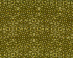 1,35 m Reststück Patchworkstoff SHAMAN VISIONARY, Blüten-Netz, limette-dunkles olive
