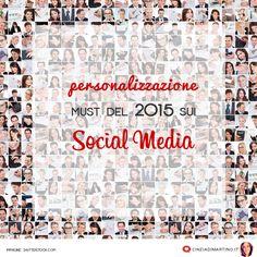 #SocialMedia: la #personalizzazione è must dell'anno! #smm via @cinziadm
