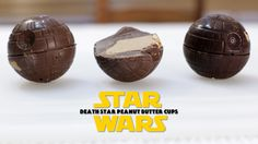 Got a Star Wars fan in your family? Try these Star Wars Death Star Peanut Butter Cups!