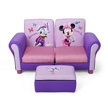 disney chairs and sofa | Disney Minnie Mouse Sofa and Ottoman | ToysRUs  sc 1 st  Pinterest & 245 best Disney Furniture. images on Pinterest | Bedrooms Baby ...