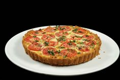 Spinach Tomato Tart – A Chef Dennis Guest Post