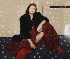 Greta Varlese & Bo Ningen for McQ FW 16.17 Campaign by Harley Weir