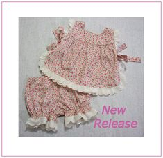 Baby sewing pattern for the Isabelle Baby Set by FelicityPatterns