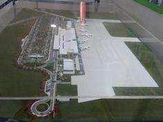 Maquete do novo aeroporto de Macapá 2016