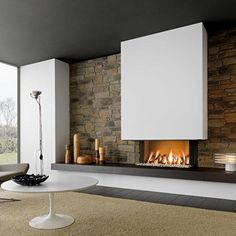 Piazzetta Fireplaces | Piazzetta Liverpool Fireplace suitable for Gas