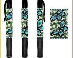Butterflies in Blue Pilot G2 Pen Cover Pattern by Kristy Zgoda