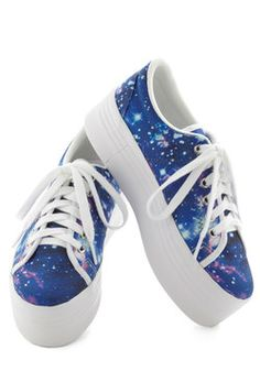 Galaxy and Be Seen Sneaker, #ModCloth -- out of my size, sob!