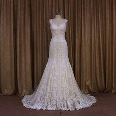 Espectacular vestido de novia que me probé en Innovias Madrid, lo mejor la espalda!