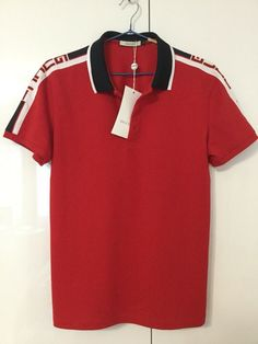 cfa308a6 Mens Gucci Short Sleeve Cotton Authentic Italy Slim Polo Shirt Sz Large # fashion #clothing