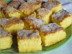 Hungarian Recipes, Hungarian Food, Sweet Cookies, Cooking Recipes, Healthy Recipes, Cornbread, French Toast, Bacon, Easy Meals