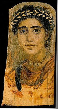 Ègbé ti Bàáyin: Las máscaras de El Fayum,periodo romano