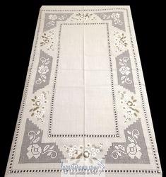 Filet Crochet, Hand Crochet, Linen Tablecloth, Bridal Lace, Learn To Crochet, Vintage Lace, Floral Lace, Hand Embroidery, Lace Trim