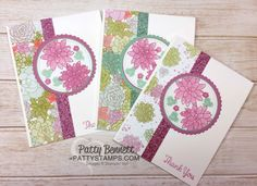 Oh So Succulent Note Cards with Sale a Bration Glimmer Paper | Patty's Stamping Spot | Bloglovin'