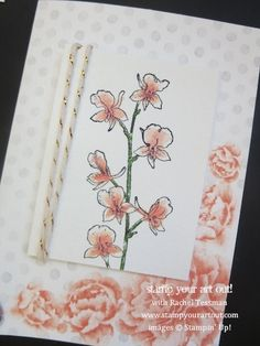 Stampin' Up!® Happy Watercolor stamp set and Watercolor Wonder note cards - Stamp Your Art Out! www.stampyourartout.com