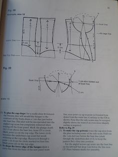 Let us know if you are interested in making Corset Patterns.Discover thousands of images about corset_bra_blueprint.patterncutting for lingerie beachwear and leisurewear - bla Pattern Draping, Bodice Pattern, Bra Pattern, Corset Sewing Pattern, Dress Sewing Patterns, Clothing Patterns, Underwear Pattern, Lingerie Patterns, Sew Underwear