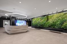 New York Office, City Office, Metlife Building, Online Architecture, New Richmond, Waiting Area, Office Interiors, Design Firms, Wall Design