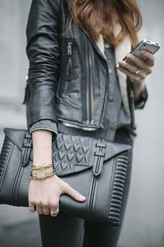 Street style | Edgy outfit