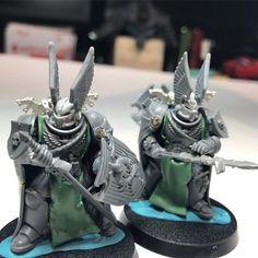Warhammer Dark Angels, Dark Angels 40k, Fallen Angels, Elf Warrior, Warhammer 40k Miniatures, Warhammer 40000, Space Marine, Sci Fi Fantasy, Figs