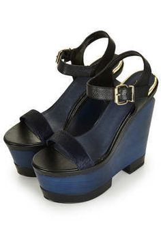Prudance Premium Wedges by Topshop