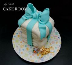 Stacked Towels Cake Tutorial....how to achieve the terry towel look... :)