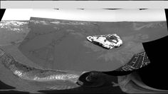 Opportunity rover landing site in 360°