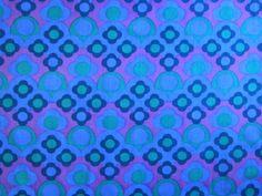 'Marina' vintage 1960s fabric