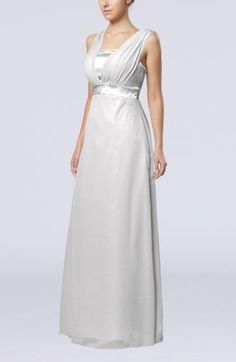 Straps Elegant Guest Dress - Order Link: http://www.theweddingdresses.com/straps-elegant-guest-dress-twdn7315.html - Embellishments: Pleated , Sash , Ribbon; Length: Floor Length; Fabric: Chiffon; Waist: Empire - Price: 130.69USD