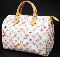 2fb86bff837b 30 Louis Vuitton (LOUIS VUITTON) speedy monogram watercolor painting Bronn  Boston bag handbags-limited product multicolored white white Louis Vuitton  %OFF