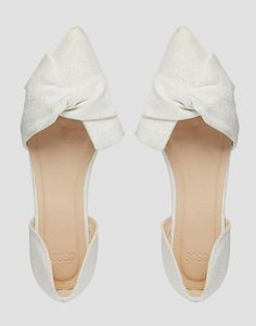 ASOS LADY Pointed Ballet Flats