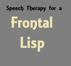 "If your ""soup"" is turning into ""thoop"" and your ""zippers"" are ""thippers"", you may have a frontal lisp. Learn how to fix frontal lisps in kids."