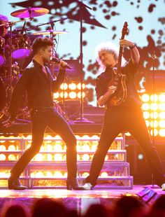 """Queen + Adam Lambert mention on All Access Music Group """"Recapping iHeartRadio Music Festival 2013... A Huge Success"""". Click the pic to read the article."""