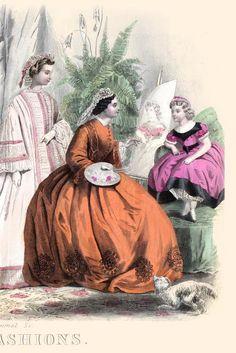 Godey's Lady's Book January 1864