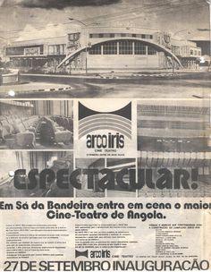 Cine Teatro Arco Iris, Lubango, Angola (1975) Fonte: https://sites.google.com/site/jomagudu/