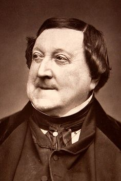 Gioachino Rossini, 1865, by Étienne Carjat (1828–1906) | by Royal Opera House Covent Garden