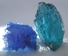 Rough Paraiba Tourmaline from the Batalha mine in Brazil