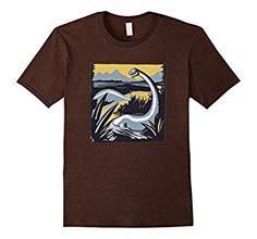Amazon.com: Brontosaurus T-Shirt, Brachiosaurus Long Neck Dinosaur Shirt: Clothing