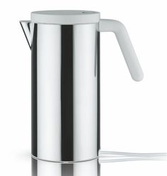 Been looking for a great electric kettle.  This by Alessi may do the trick (since the Michael Graves doesn't come in black electric for North American wiring).