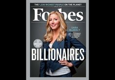 Spanx founder Sarah Blakely just became the youngest self-made woman billionaire!