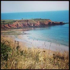 Sandy Bay, Devon Cliffs
