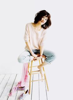 Top Advice To Help You Look More Fashionable – Girl Next Door Fashion Denim Fashion, Star Fashion, Fashion Beauty, Girl Fashion, Girl Short Hair, Short Girls, Keiko Kitagawa, Beautiful Japanese Girl, Cute Beauty