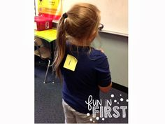 Simple Review Game: 1 student comes to front and has a vowel placed on his/her back. The student with the Post-It note turns around and calls on students to give them a word with the vowel sound so he/she can guess which vowel is on their back.