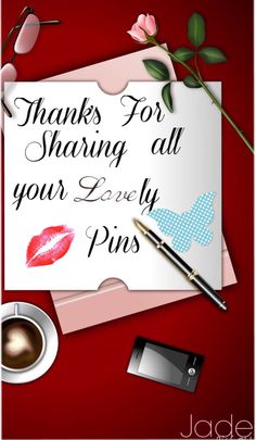 Thanks to all who have shared many pins with me. Please feel free to pin anything you like from my boards. xoxo (∩_∩) Enjoy!