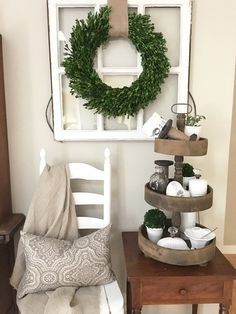 Farmhouse Woods and Whites