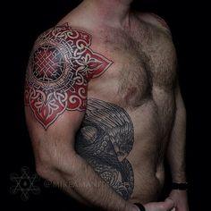 slavic #ornament | #mikeamanita #dotwork #tattoo | Flickr - Photo ...
